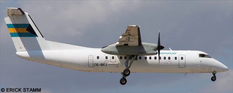 Bahamasair -DeHavilland Dash 8-300 Decal