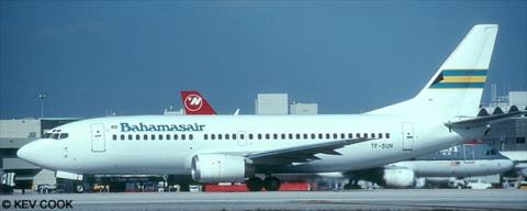 Bahamasair -Boeing 737-300 Decal