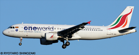 Sri Lankan Airlines, Oneworld Various Airlines Airbus A320 Decal