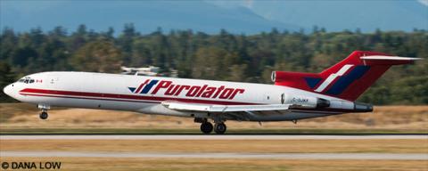 Purolator -Boeing 727-200 Decal