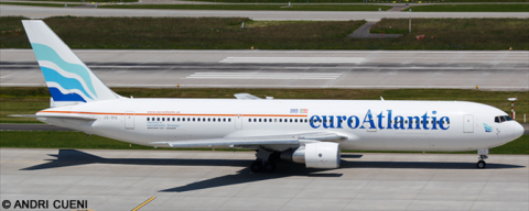 EuroAtlantic Airways -Boeing 767-300 Decal