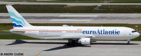 EuroAtlantic Airways -Boeing 767-300 Decal