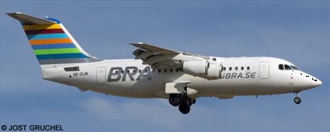 BRA Braathens Regional Airlines -BAe Avro RJ-85 Decal