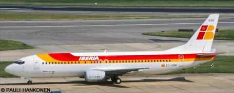 Iberia -Boeing 737-400 Decal