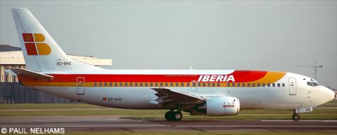 Iberia -Boeing 737-300 Decal