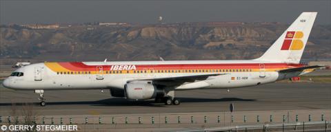 Iberia -Boeing 757-200 Decal