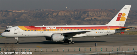 Iberia -Boeing 757-200 Decal