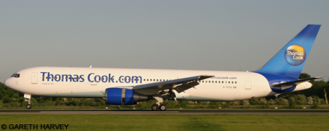 Thomas Cook -Boeing 767-300 Decal
