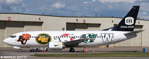 Canadian North -Boeing 737-300 Decal