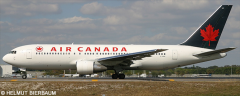 Air Canada -Boeing 767-200 Decal