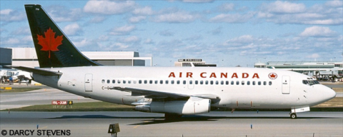 Air Canada -Boeing 737-200 Decal