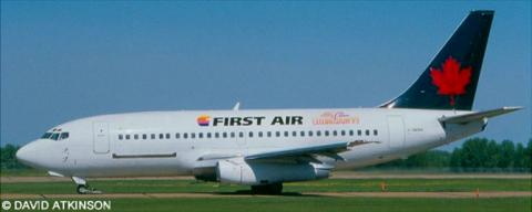 First Air, Air Canada -Boeing 737-200 Decal