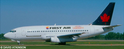 First Air, Air Canada -Boeing 737-200 Decal