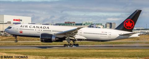 Air Canada -Boeing 777-200 Decal