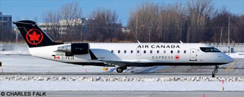 Air Canada Express, Air Canada Jazz -Bombardier CRJ 100-200 Decal