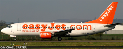 EasyJet -Boeing 737-300 Decal
