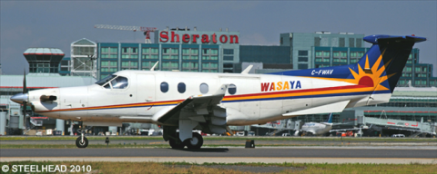 Wasaya Airways Pilatus PC-12 Decal