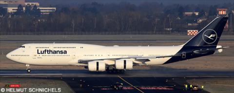 Lufthansa -Boeing 747-8 Decal