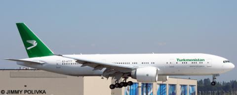 Turkmenistan -Boeing 777-200 Decal