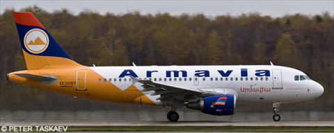 Armavia Airbus A319 Decal
