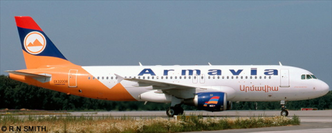 Armavia Airbus A320 Decal