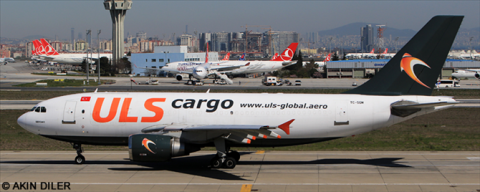 ULS Cargo -Airbus A310-300 Decal