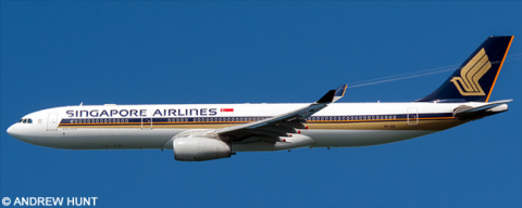 Singapore Airlines -Airbus A330-300 Decal