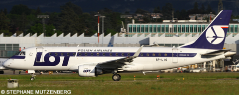 LOT Polish Airlines -Embraer E175 Decal