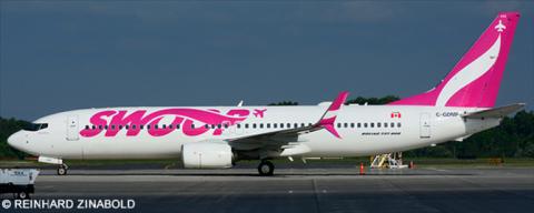 Swoop, Westjet -Boeing 737-800 Decal