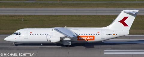EasyJet, WDL Aviation -BAe 146-300 - Avro RJ-100 Decal