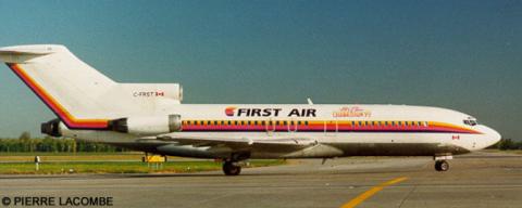 First Air --Boeing 727-100 Decal