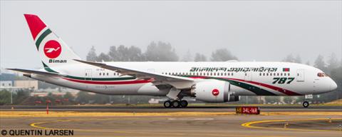 Biman Bangladesh -Boeing 787-8 Decal