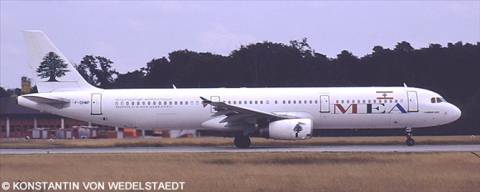 MEA Middle East Airlines Airbus A321 Decal