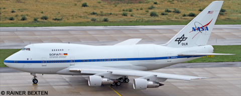 NASA -Boeing 747SP Decal
