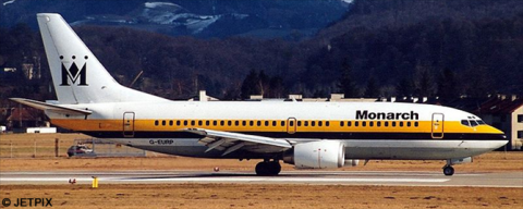 Monarch Airlines -Boeing 737-300 Decal