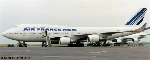 Air France Asie -Boeing 747-400 Decal