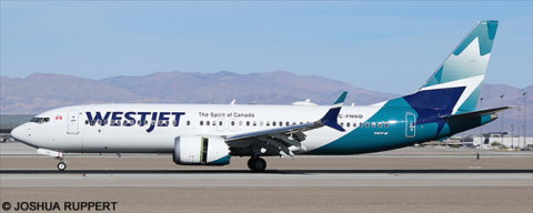 Westjet -Boeing 737-8 MAX Decal