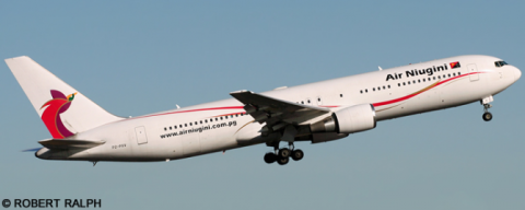 Air Niugini -Boeing 767-300 Decal
