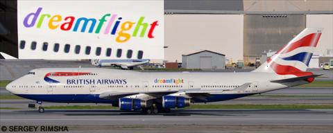British Airways -Boeing 747-400 Decal