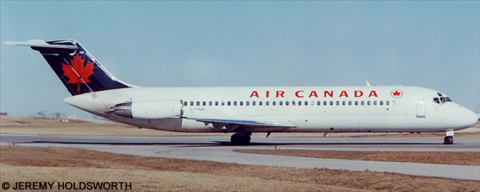 Air Canada McDonnell Douglas DC-9 Decal
