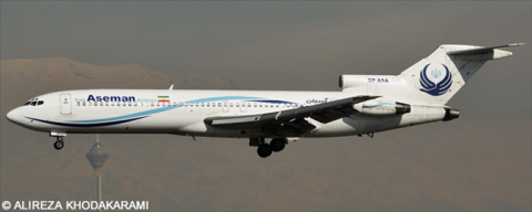 Aseman Iran Airlines -Boeing 727-200 Decal