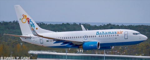 Bahamasair -Boeing 737-700 Decal