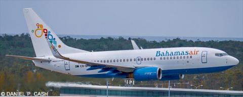 Bahamasair Boeing 737-700 Decal