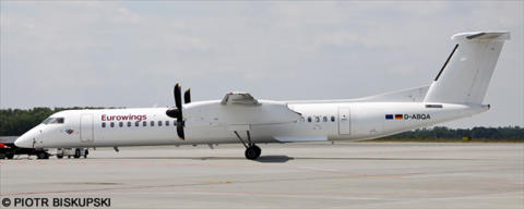 Eurowings -Bombardier Dash 8-Q400 Decal