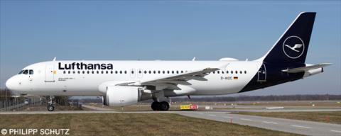 Lufthansa Airbus A320 Decal