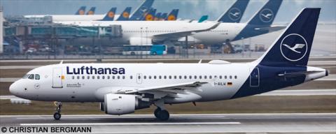 Lufthansa Airbus A319 Decal
