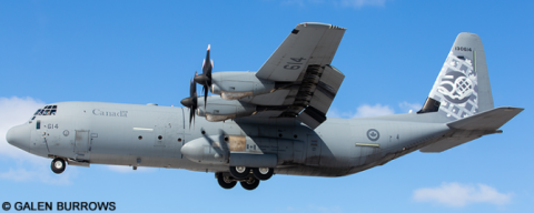 Royal Canadian Air Force RCAF, Canadian Forces Lockheed C-130 Hercules Decal