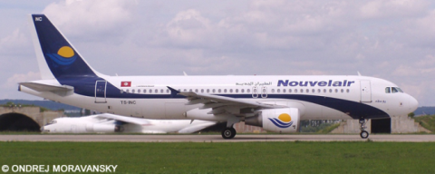 Nouvelair Airbus A320 Decal