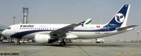 Iran Air, Nouvelair Airbus A320 Decal