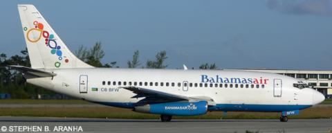 Bahamasair -Boeing 737-200 Decal